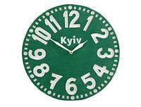 Часы Киев (зелёный)