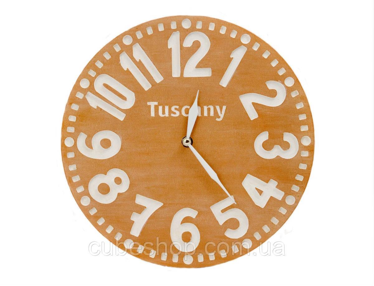 Настенные часы Тоскана (терракотовый)