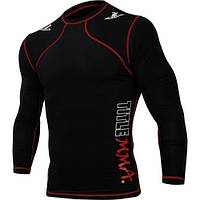 Компрессионный реглан TITLE MMA Quad-Flex Reaper Long Sleeve Rash Guard