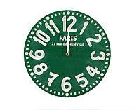 Часы Париж (зелёный), фото 1