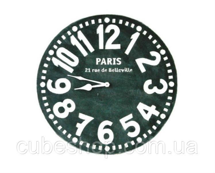Настенные Часы Париж (чёрные)