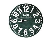 Настенные Часы Париж (чёрные), фото 1