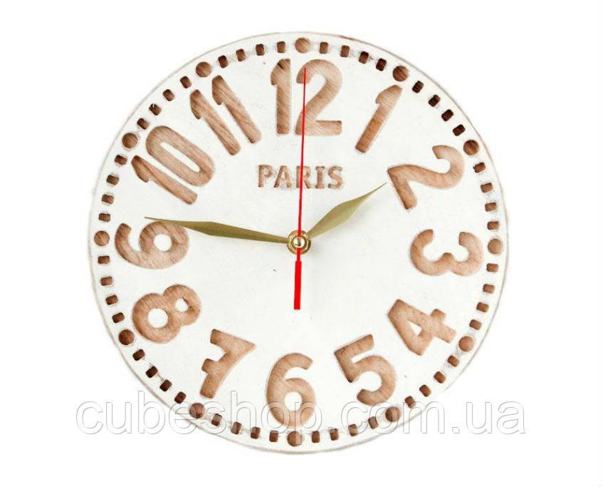Настенные часы Париж (натуральный)