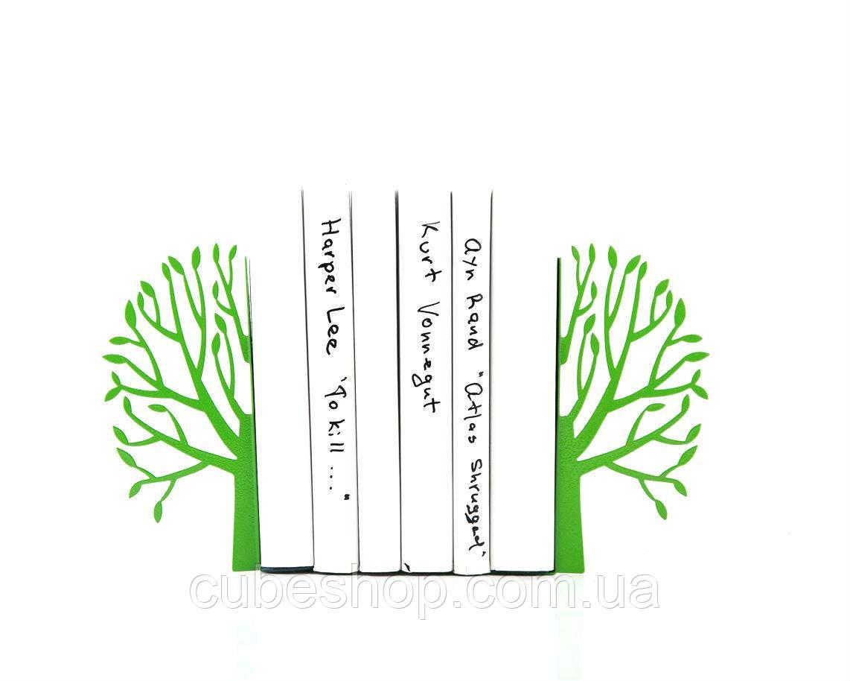 Держатели для книг Весна (зелёная)