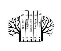 Упоры для книг Зима (чёрное), фото 1