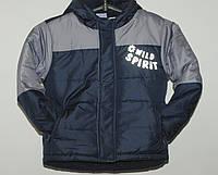 Демисезонная курточка для мальчика 4-5 лет (110 см)