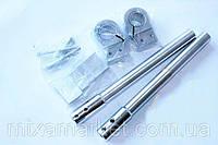 Клипоны руля для Yamaha YBR и другие 125-ки (цвет серебо)