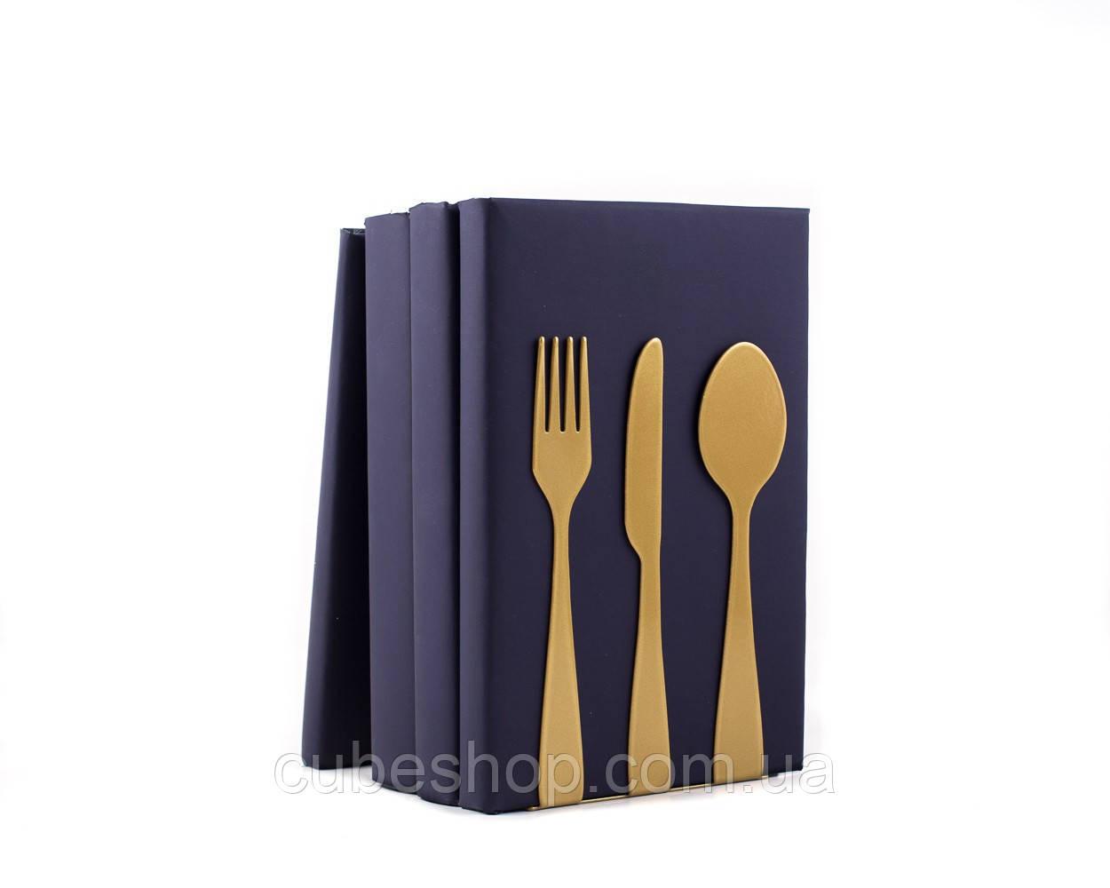 Кухонные упоры Столовые приборы (золото)