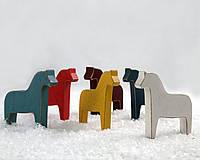 Деревянные игрушки-лошадки Дала, фото 1