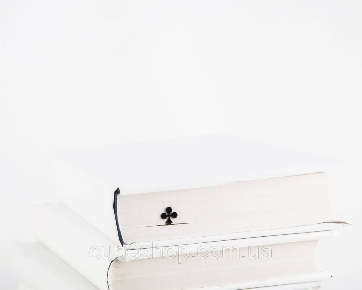 Закладка для книг Трефовый туз