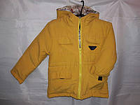 Детская демисезонная куртка парка 92-116 см
