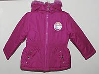 Демисезонная курточка для девочки 4 года(101-107 см)