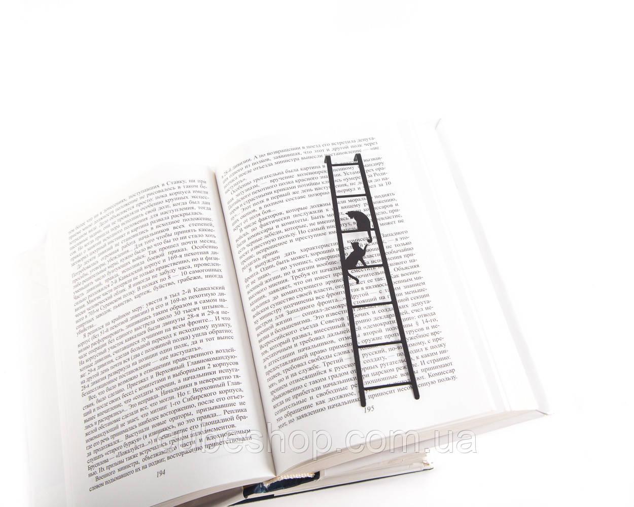 Закладка для книг Кошки