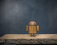 Деревянная игрушка Android (на магнитах)