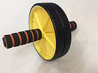 Ролик гимнастический двойной (колесо для пресса)