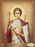 Схема для вышивания бисером Tela Artis Святой Великомученик Димитрий Солунский ТД-101