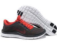 Кроссовки Nike Free Run 3.0 V5 Black/Red, фото 1