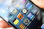 Самая точная китайская копия iPhone 5 на андроиде. (ВИДЕООБЗОР).