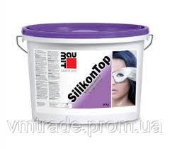Декоративная силиконовая штукатурка Silikon Top баранець 1,5мм BAUMIT, 25 кг.