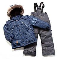 Зимний термокостюм для мальчика 3-8 лет (куртка и полукомбинезон), р. 98-134 ТМ Peluche&Tartine Dk Heaven F17 M 61 EG