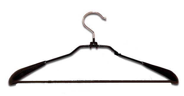 Плечики вешалка металлическая в силиконе