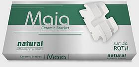 Керамическая брекет Natural Maia, Roth 022