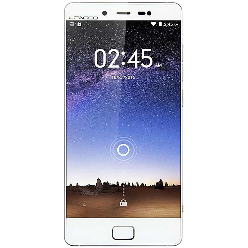 "Смартфон LEAGOO Elite 1, 3GB+32GB Белый 5"" FullHD 1920x1080 MTK6753 8 ядер Mali-T760 LTE IPS камеры 16+13 Мп"