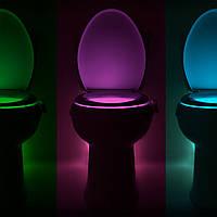 ЛЕД подсветка для унитаза LIGHTBOWL с антибактериальным эффектом (illumibowl) toilet light