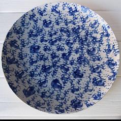 Тарелка плоская 270 мм без борта( Farn) Синий Лео