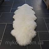 Двойная овечья шкура, прикроватные коврики из шкур, купить накидку, фото 4