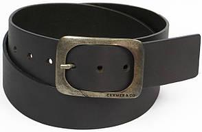 Мужской кожаный ремень под джинсы, Cramer & Co