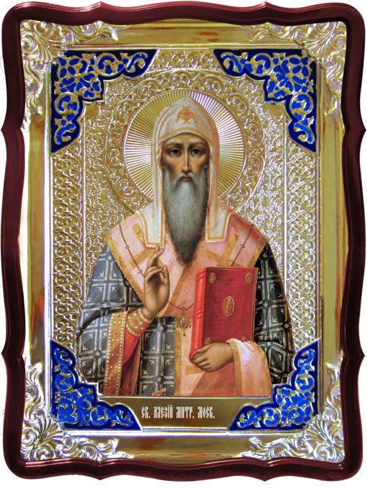 Святі на іконах православної церкви - митрополит Московський Алексій