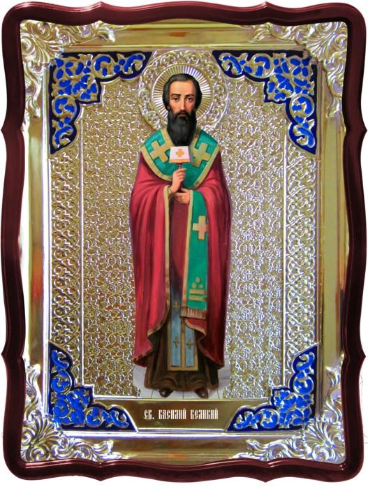 Иконы православных святых -  Св. Василий Великий (ростовая)