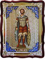 Лики святых на иконах -  Святой Виктор на иконе