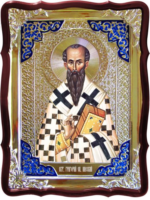Иконы для православной церкви -  Святой Григорий, епископ Нисский