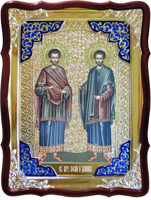 Иконы святых православия -  Святой Косьма Дамиан
