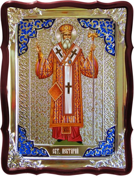 Православные иконы все на заказ в лавке: Святой Нектарий ростовая