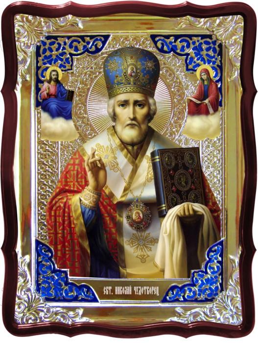 Житие святых на православных иконах: Святой Николай