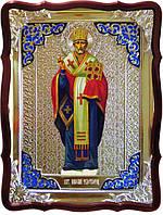 Название икон православной церкви: Святой Николай рост митра