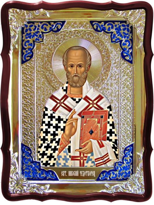 Иконы православия в каталоге - Святой Николай чудотворец византийская