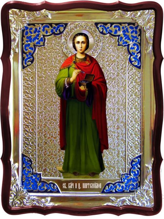 Ікони святих цілителів Святий Пантелеймон зростання.