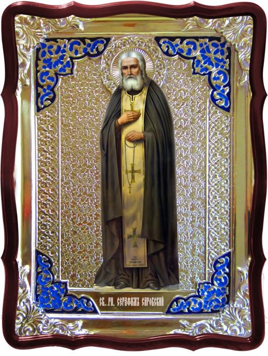Иконы святых православия -  Святой Серафим Саровский