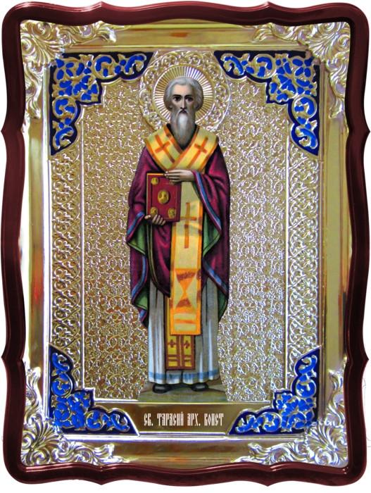 Ікони святих та їх значення для парафіян: Святий Тарасій