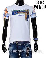 Футболка мужская лето-2014 Big Рower-32 белая