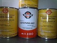 Термостойкие смазки: смазка Циатим-221, смазка ВНИИНП-207, смазка ПФМС-4С