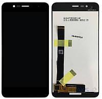 Дисплей (экран) для телефона Asus ZenFone 3 Max ZC520TL + Touchscreen Original Black