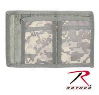 Гаманець Коммандо на липучці забарвлення ACU Rothco Commando Wallet