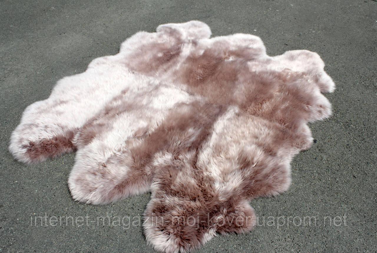 Ковер шестерка из шкур, овечьи шкуры из Новой Зеландии