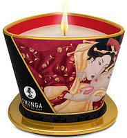 Shunga - Массажная свеча MASSAGE CANDLE SPARKLING STRAWBERRY WINE (T274508)