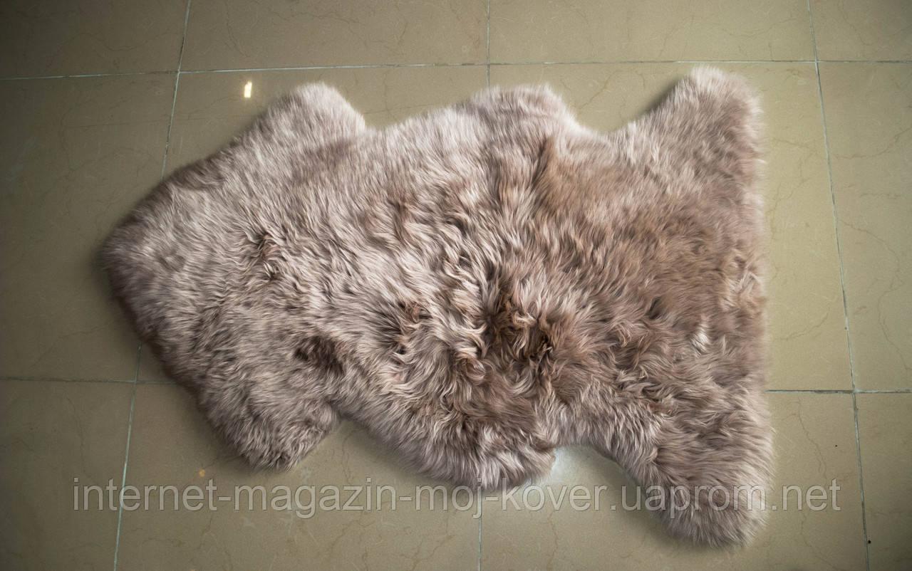 Шкурка сіро-фіолетового кольору, купити овчину Київ
